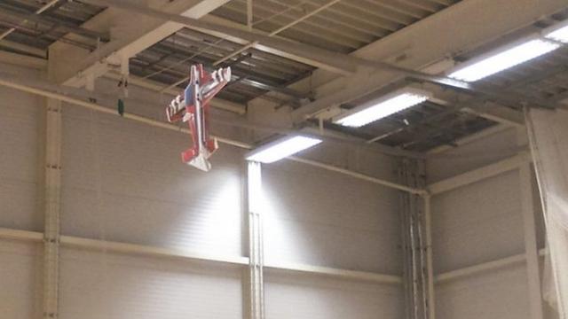 indoor model flying